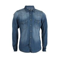 Sky T-Shirt camicia jeans thor stone wash