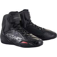 Alpinestars scarpe moto Alpinestars faster-3 nero grigio canna di fucile
