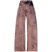 Marques'Almeida jeans a gamba ampia - rosa