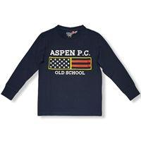 Aspen polo club - t-shirt manica lunga ragazzo