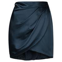 Michelle Mason minigonna drappeggiata - blu