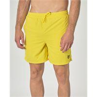Lyle & Scott boxer mare giallo con taschino sul retro