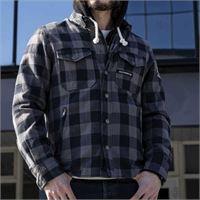 Holy Freedom - giacca moto Holy Freedom lumberjack grey