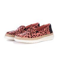HEY DUDE SHOES scarpe basse donna HEY DUDE SHOES | lena leopard rosa nero