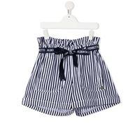 Alberta Ferretti Kids shorts in cotone bianco