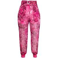 Mr & Mrs Italy pantaloni blossom camouflage - rosa