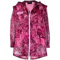 Mr & Mrs Italy parka blossom camouflage - rosa