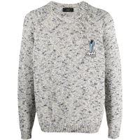 Alanui maglione desert mood - grigio