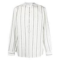 Lardini camicia a righe - bianco