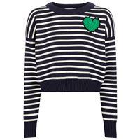 Alexander McQueen pullover a righe in misto lana