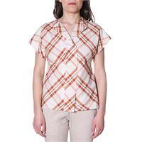 LIVIANA camicia liviana conti beige e marrone