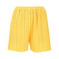Bambah shorts plissettati playa - giallo
