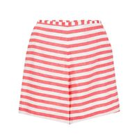 Bambah shorts a righe - rosso