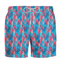 Zeybra - costume uomo pappagalli corallo