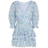LOVESHACKFANCY miniabito marquise a stampa in cotone