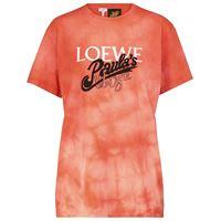 LOEWE paula's ibiza - t-shirt tie-dye in cotone