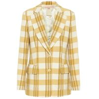 Brock Collection blazer rotterdam a quadri in lana
