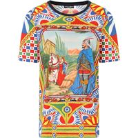 Dolce & Gabbana t-shirt con stampa - rosso