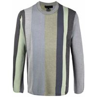 Comme Des Garçons Shirt felpa a righe - verde