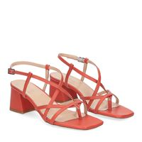 Il Laccio sandalo 1417 pelle arancio