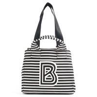Bogner serfaus beach zaha borsa shopper nero/bianco