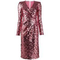 DOLCE E GABBANA vestito donna f6h0tthlmzmf0889 poliammide rosa