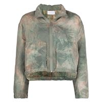 John Elliott giacca crop - verde