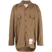 Maison Mihara Yasuhiro camicia - marrone