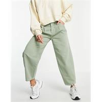Whistles - india - jeans a pieghe verde pallido