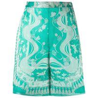 Emilio Pucci shorts con stampa tropicale - verde