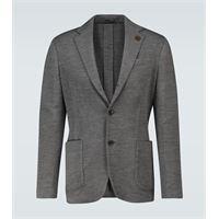 Lardini blazer easy drop 7 in lana