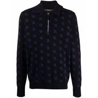 Billionaire maglione con stampa - nero