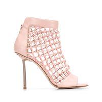 Le Silla sandali a rete - rosa
