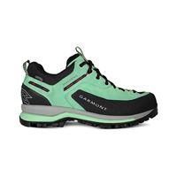 Garmont dragontail tech gtx gore-tex scarpe donna, verde/rosso