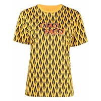 Paco Rabanne t-shirt ciao paco con stampa - giallo