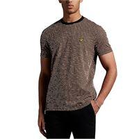 Lyle & scott t shirt ts1414v w28 brown