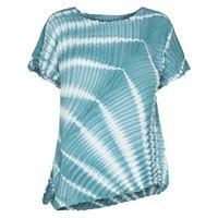 Issey Miyake t-shirt asimmetrica - blu