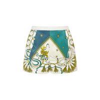EMILIO PUCCI shorts in velluto di cotone stampato
