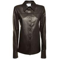 SPORTMAX giacca in nappa con bottoni