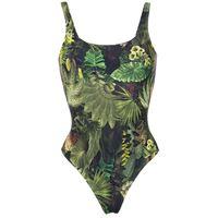 Lygia & Nanny hapuna printed swimsuit - verde