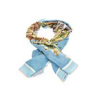 LORO PIANA sciarpa donna fal0123t0fl cashmere azzurro