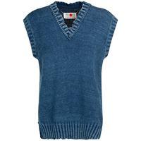 MAISON MARGIELA gilet in maglia di cotone distressed