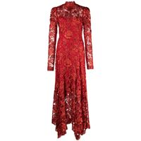 Tadashi Shoji abito da sera erdene - rosso
