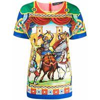 Dolce & Gabbana t-shirt con stampa - verde