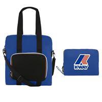 K-Way shopping bag richiudibile k way le vrai 3.0 violette blue royal