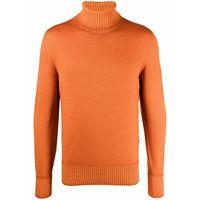 Drumohr maglione a collo alto - arancione