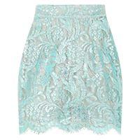 Dolce & Gabbana minigonna a fiori - blu