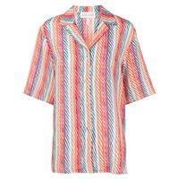 Saloni camicia de chine silk crepe - multicolore