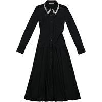 Christopher Kane beaded jersey dress - nero