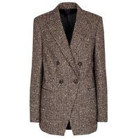 Brunello Cucinelli blazer doppiopetto in lana e alpaca
